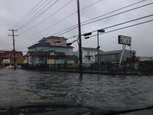 Flooding on Long Beach Blvd in Dec of 2012